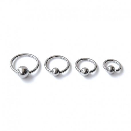 """Cbr Ring """"Plain"""" Stål - 2mm"""