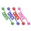 Ind stav med spiral - Olika färger