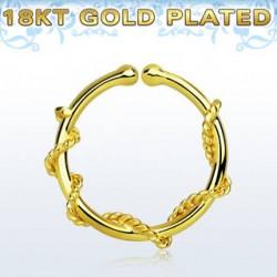 septum ring guld
