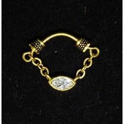 Ovanligt septum smycke