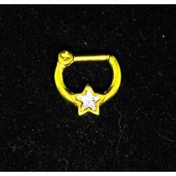 Septum smycke med stjärna GULD