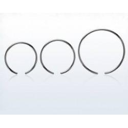 Ball closure ring stål